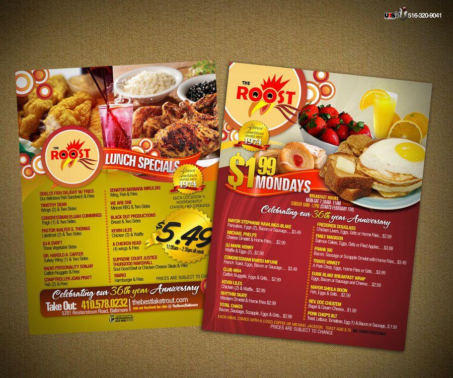 40+ Restaurant Menu Designs for Inspiration | Restaurant menu design
