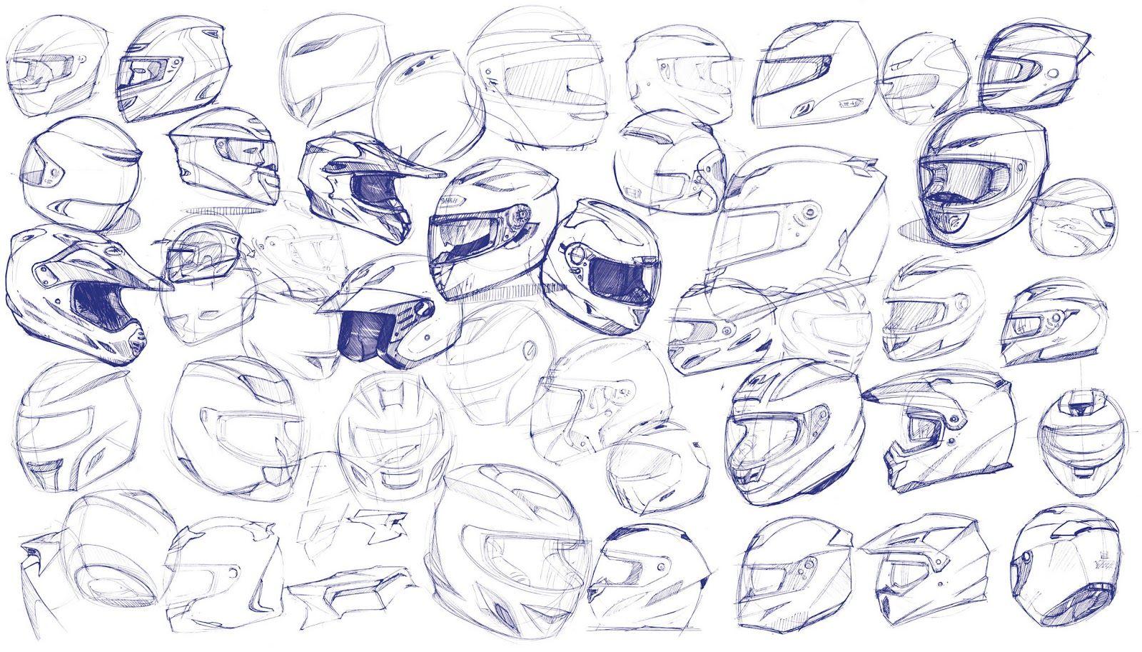 Helmet Design Sketch Design Sketch Helmet Design