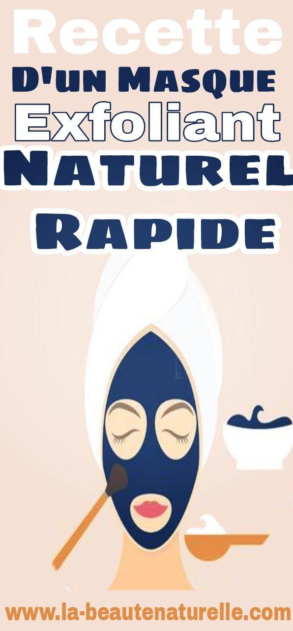 Recette d 39 un masque exfoliant naturel rapide trucs pinterest beaut astuces beaut et - Masque visage maison bonne mine ...