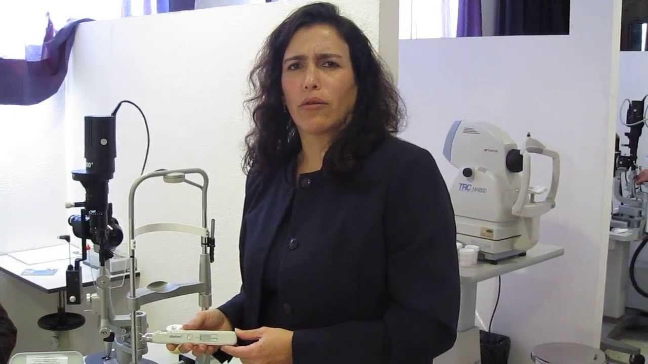Único DIATON Tonómetro Transpalpebral No toca el ojo A través del párpado http://www.tonometerDiaton.com #tonometer #diaton