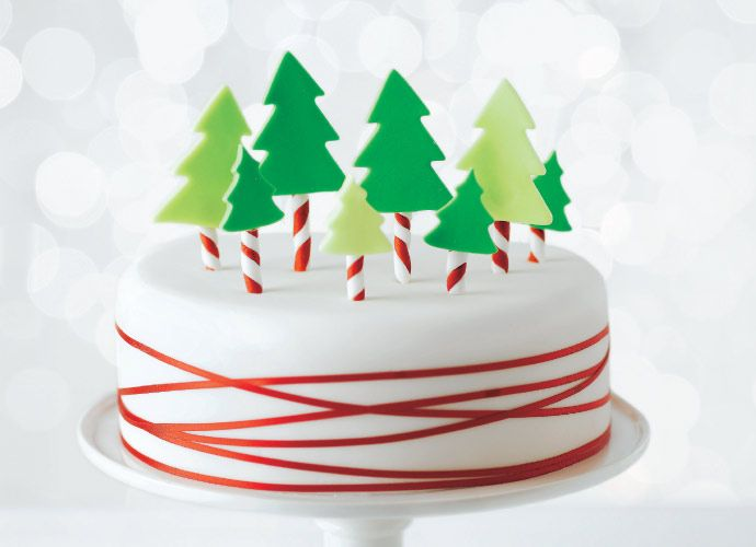 Xmas fruit cake from Tesco | Christmas cake decorations ...