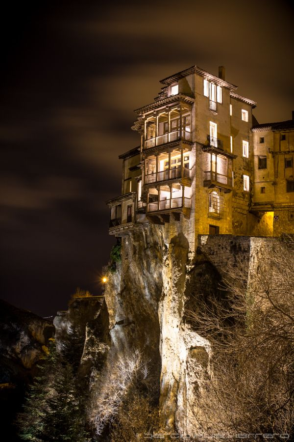 *SPAIN ~ Cuenca Hanging Houses 2 By Sergio Ruiz On