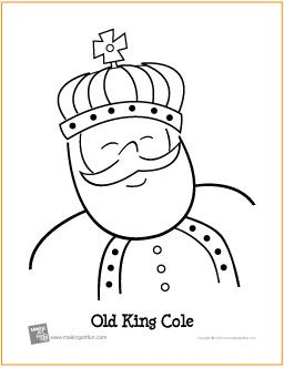Pin by Tricia Fling on Free Coloring Pages King cole