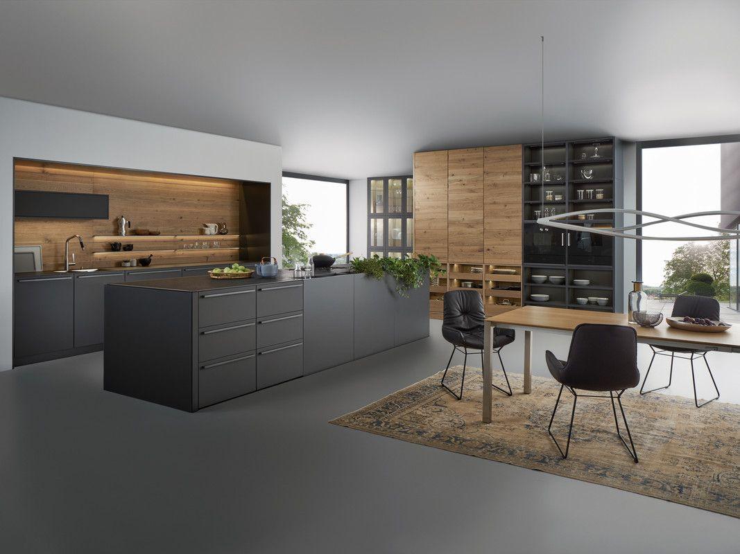 BONDI | VALAIS › Lacquer › Modern style › Kitchen › Kitchen | LEICHT ...