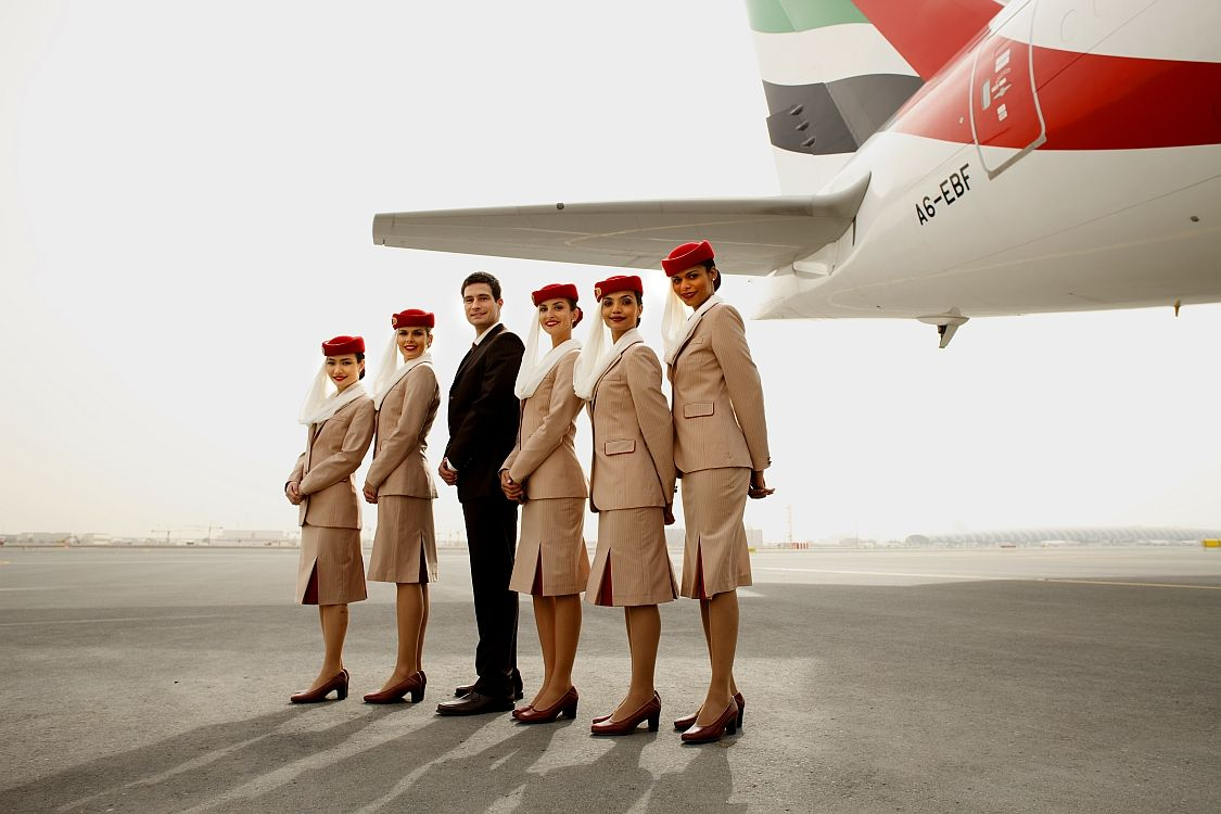 Emirates Emirates Airline Flight Attendant Flight Attendant Uniform