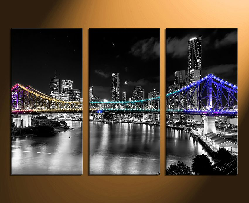 Image result for black and white wall art three piece