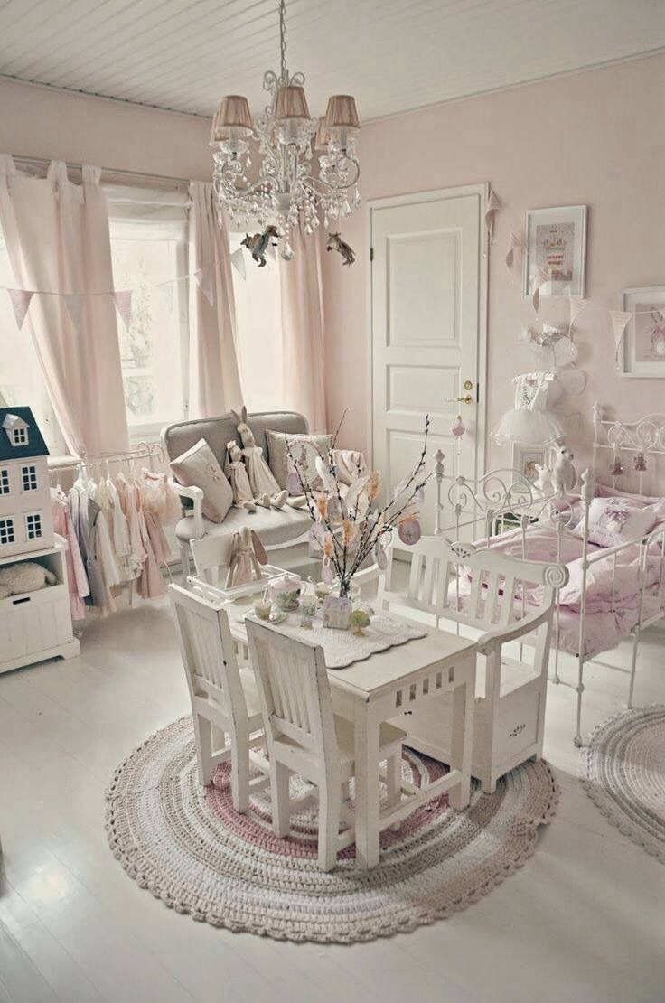 Beautiful Everything Is Just So Perfect For My Little Girl I Love How It Has A High  Chair For Her Little Dolls And The Curtains Are Just Beautiful | Nursery ...