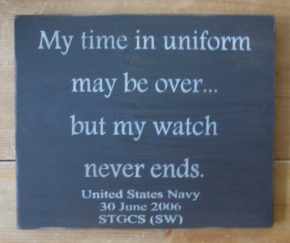 04de549f342 Personalized Retirement Sign, Retirement gift, Custom Sign, Wood Sign, Time  in Uniform, Military, Po