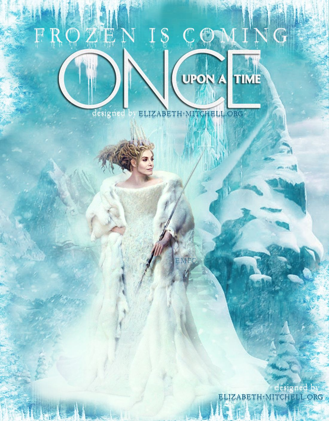 Snow Queen ouat in 2019 Once upon a time, Elizabeth