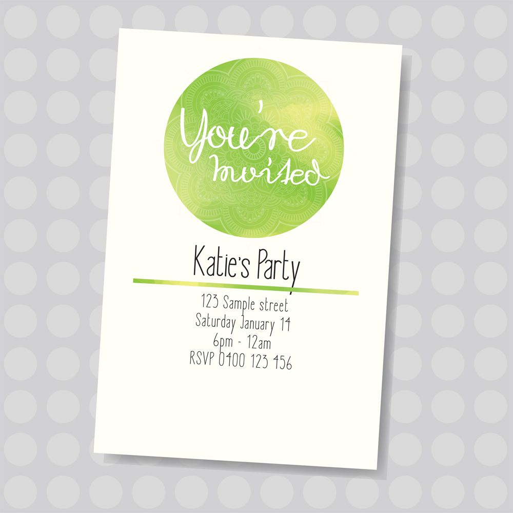 customized birthday party invitations. tips create birthday ...