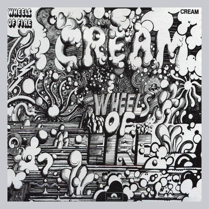 Marco de aluminio color plata mate. Ejemplo: Cream - Wheels of Fire ...