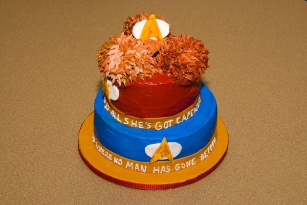 Star Trek Tribble Cake!