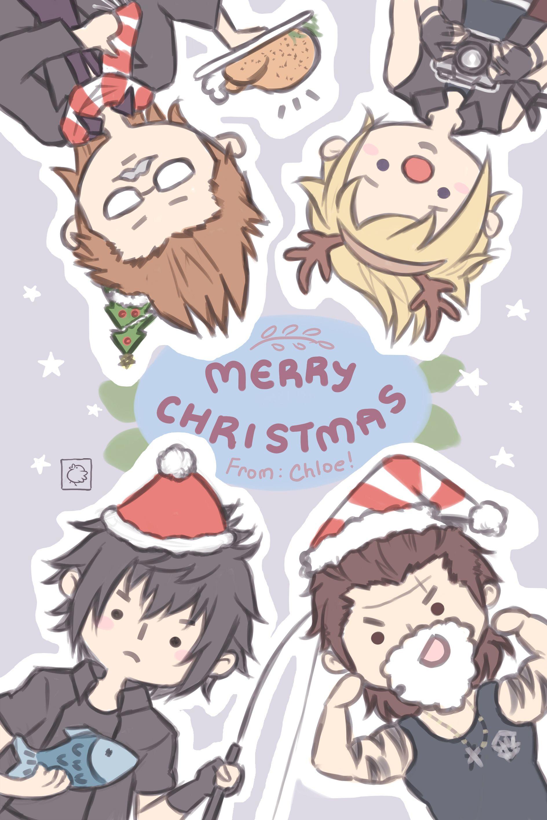 Final Fantasy Christmas.Pin On Ffxv Wants