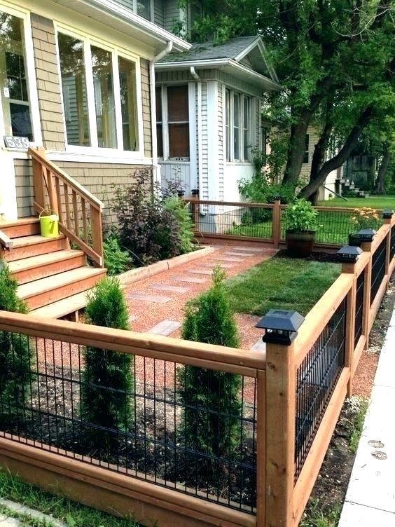 types of backyard fences - jamesdelles.com | Patio fence ...