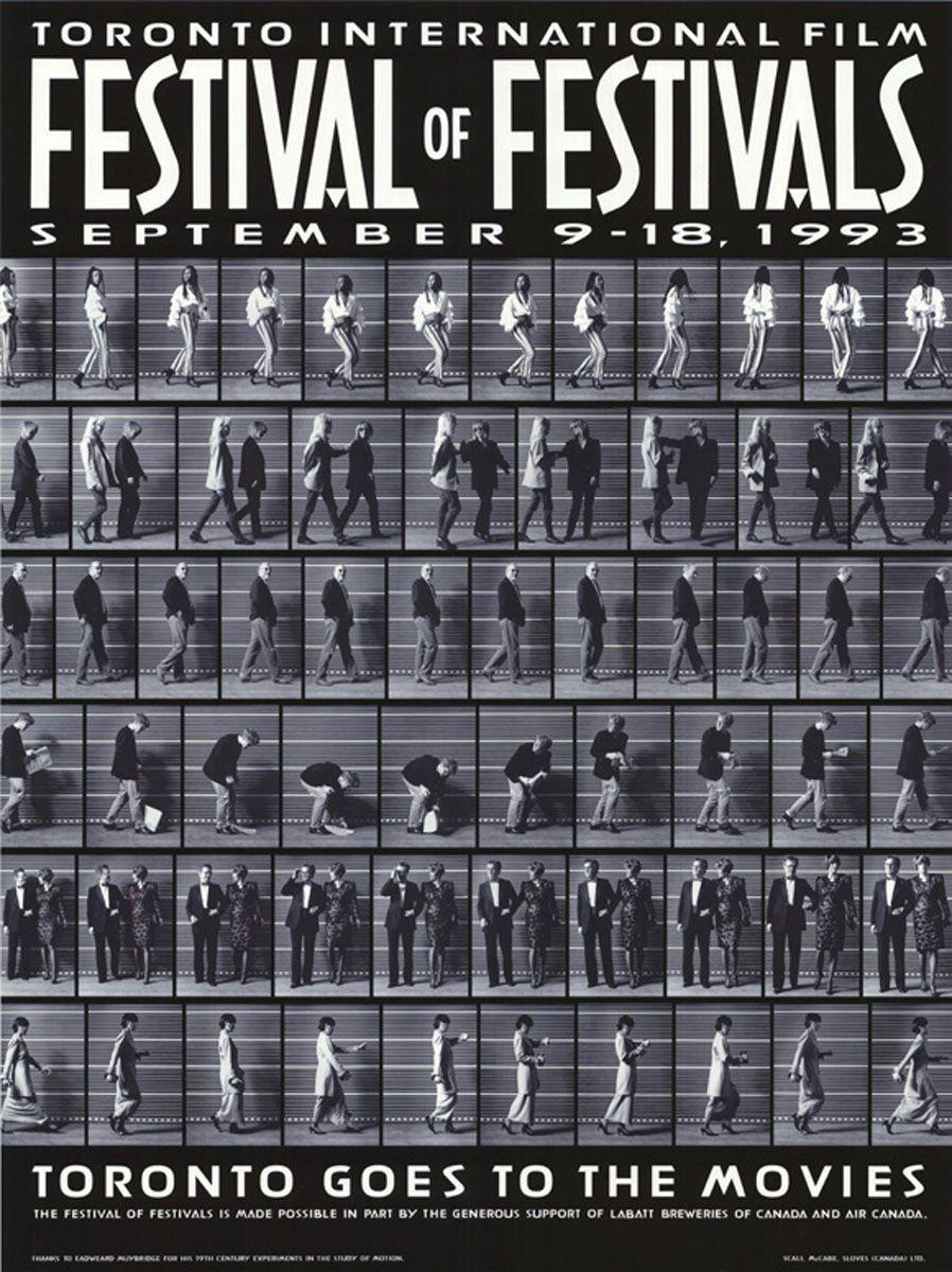 Toronto International Film Festival 1993 Film Festival Poster Film Festival International Film Festival