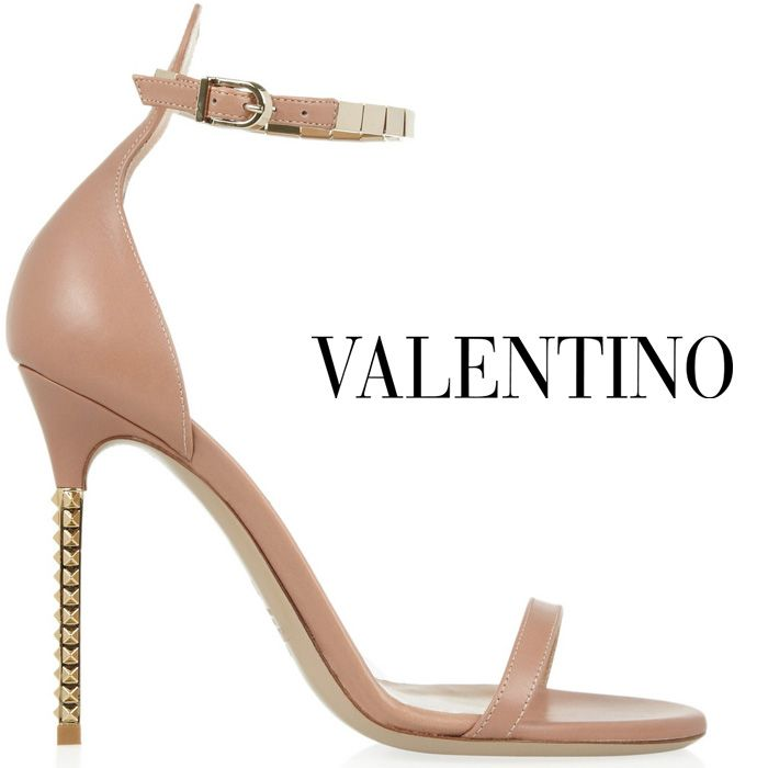 Valentino Spring 2013- nude leather ankle strap sandal