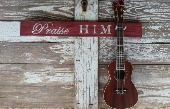 Christian Instrument Wall Mount For The Ukulele By