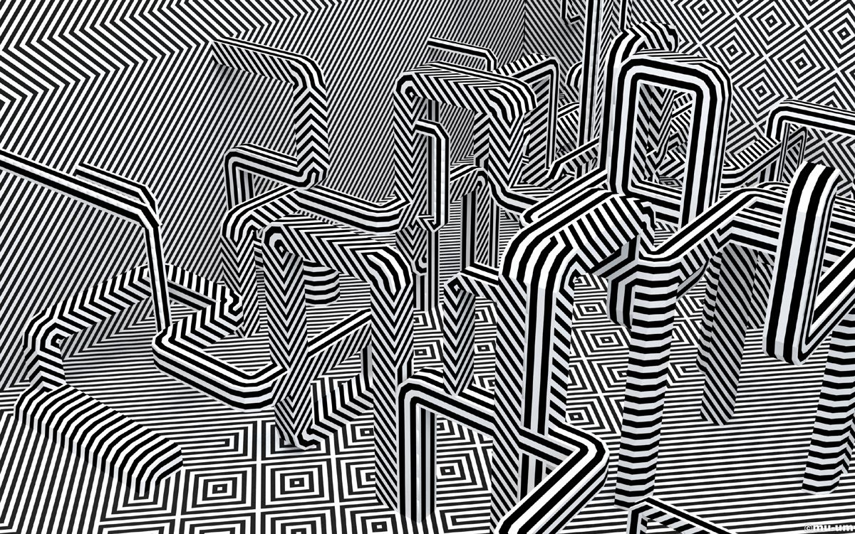 Line Design Op Art : Pin by curtis steiner on stripes op art illusions