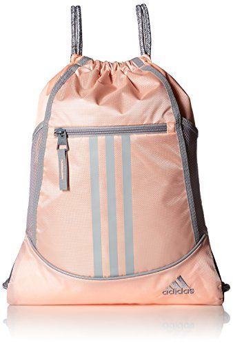 adidas Alliance II Sack Pack, One Size, Haze CoralLight