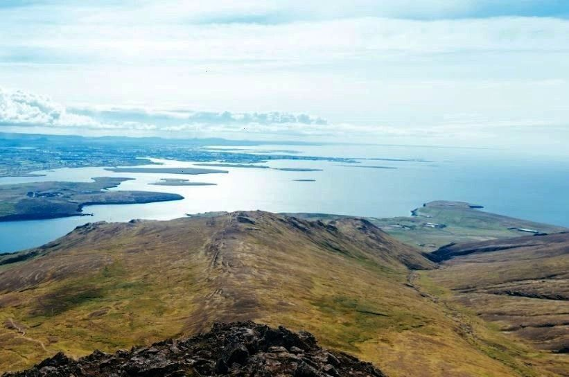 Esja Trail, Iceland This is by far one of the most popular hiking destinations in Iceland. Nearly 7