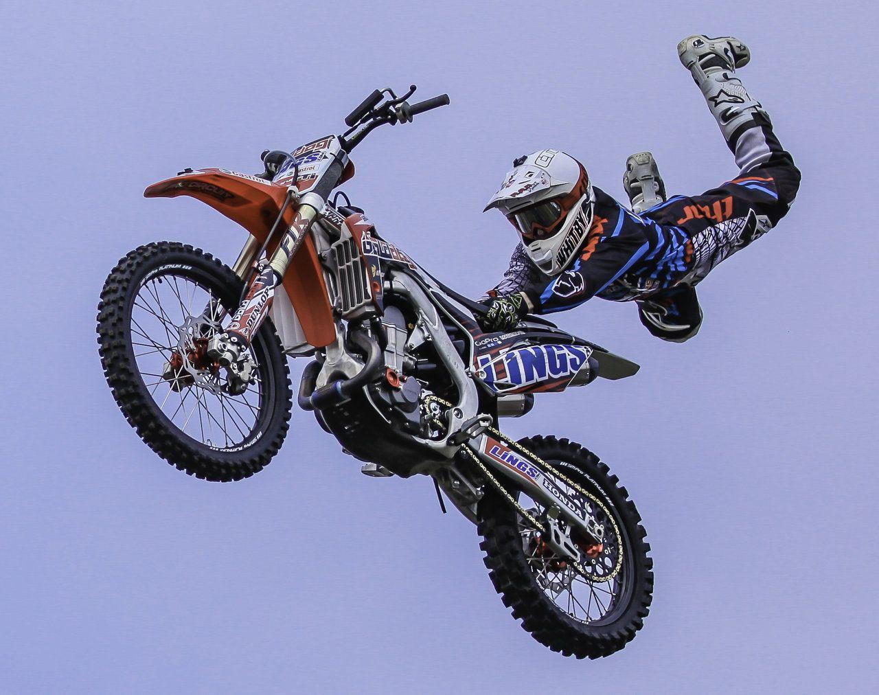 Motocross Tricks Superman Motocross Tricks Extreme Sports