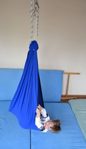 Elastic Hammock For Vestibular Proprioceptive And Tactile