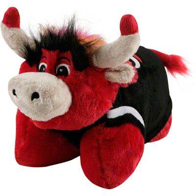my pillow pets nba chicago bulls pillow