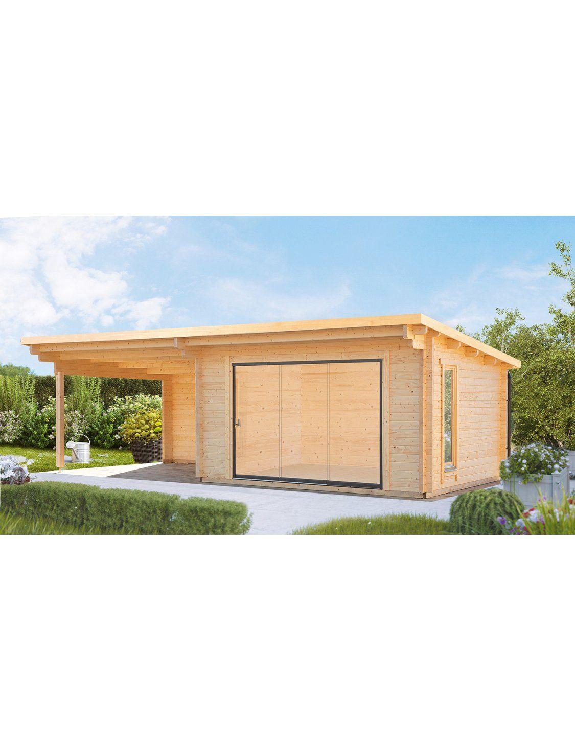 Wolff Finnhaus Holz Gartenhaus Trondheim 70 D Bxt 830x360cm Rechts 380cm Anbau Kaufen Bei Obi Gartenhaus Haus Gartenhaus Tur