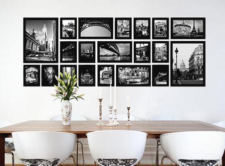 Fotolijsten r a pinterest foto muren muur en - Pinterest fotowand ...