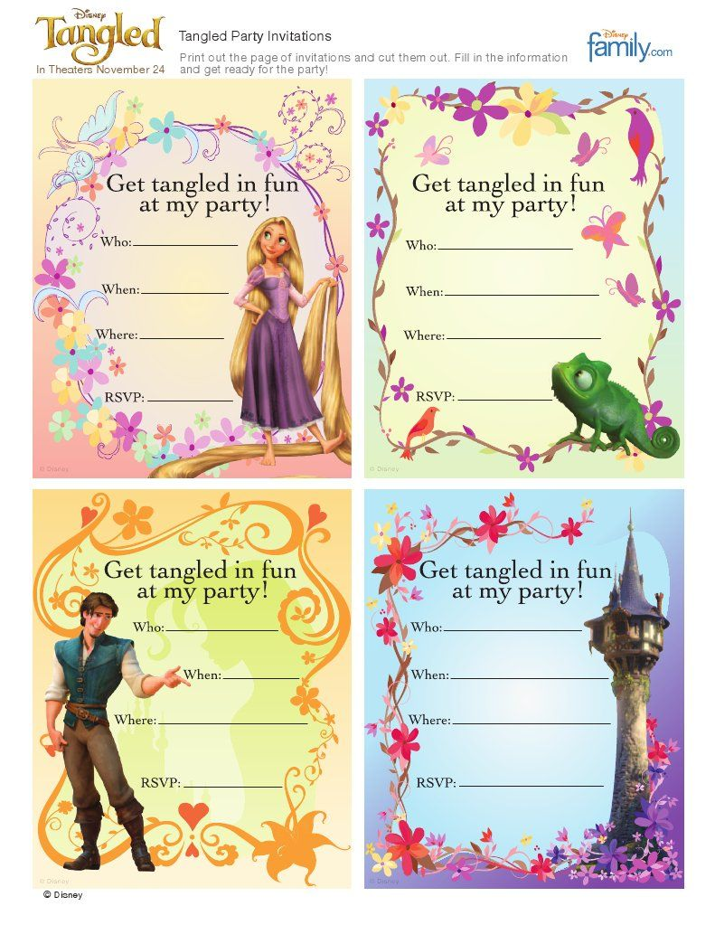 Scribd Is The World S Largest Social Reading And Publishing Site Tangled Party Tangled Invitations Tangled Birthday Party