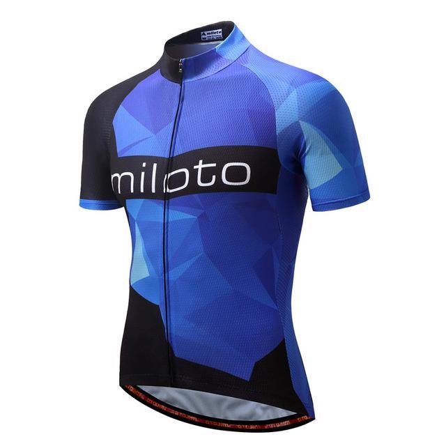 e3009c117 MILOTO 2018 Cycling Jersey Tops Summer Racing Cycling Clothing Ropa Ciclismo  Short Sleeve mtb Bike Jersey Shirt Maillot Ciclismo