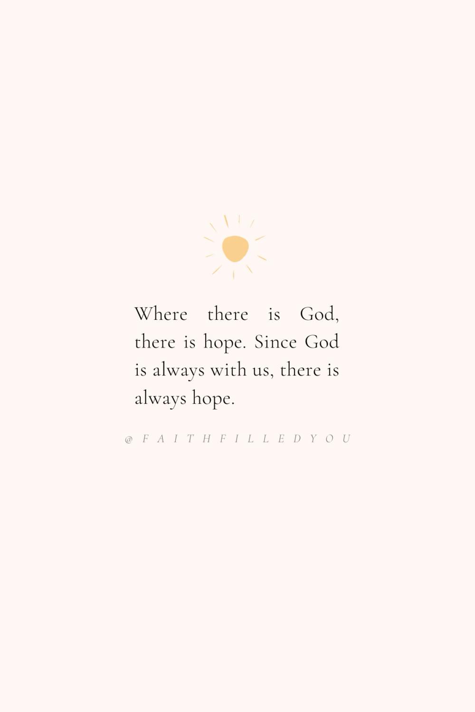 Hope Faith Quotes