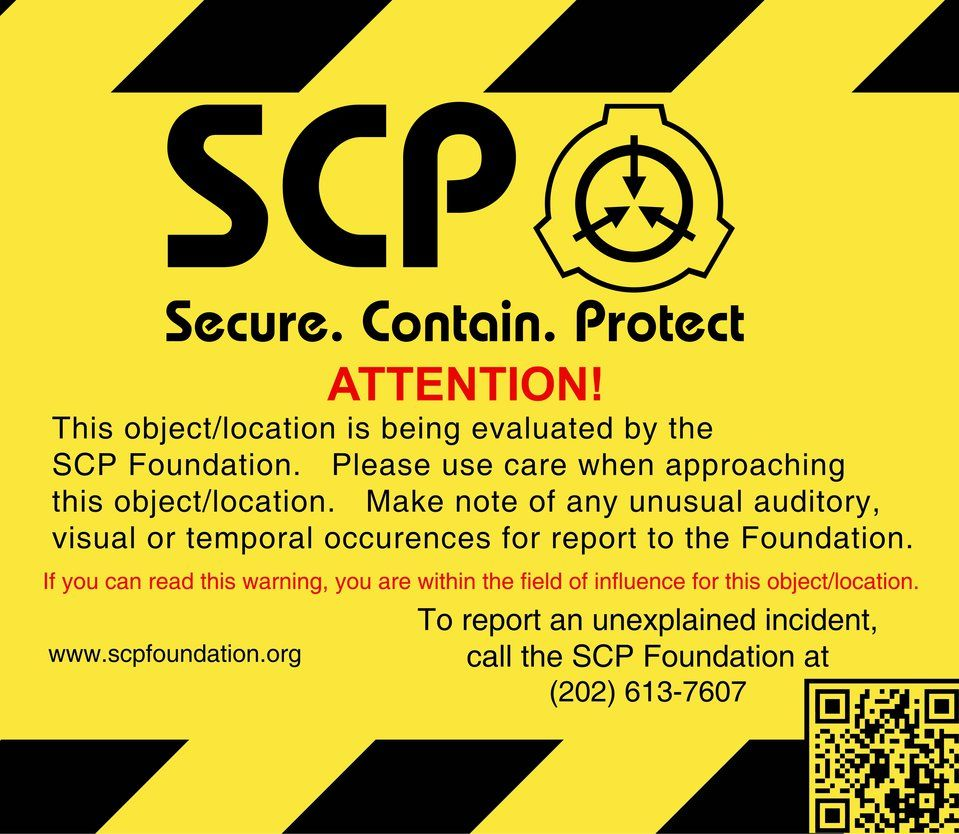 Scp Warning Sign By Neutron Quasar On Deviantart Scp Scp 049 Peace Quotes