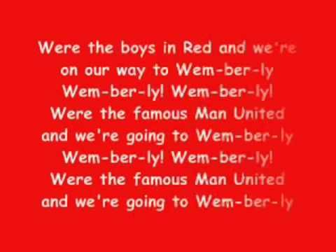 Manchester United Theme Song Man United Songs Manchester United