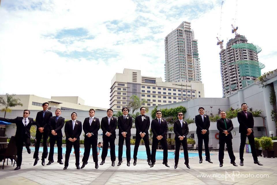 Men in black.