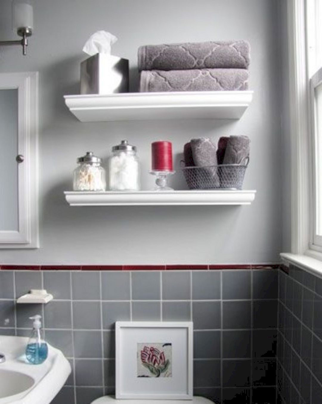 10 Beautiful Corner Wall Shelves Ideas For Your Bathroom Small