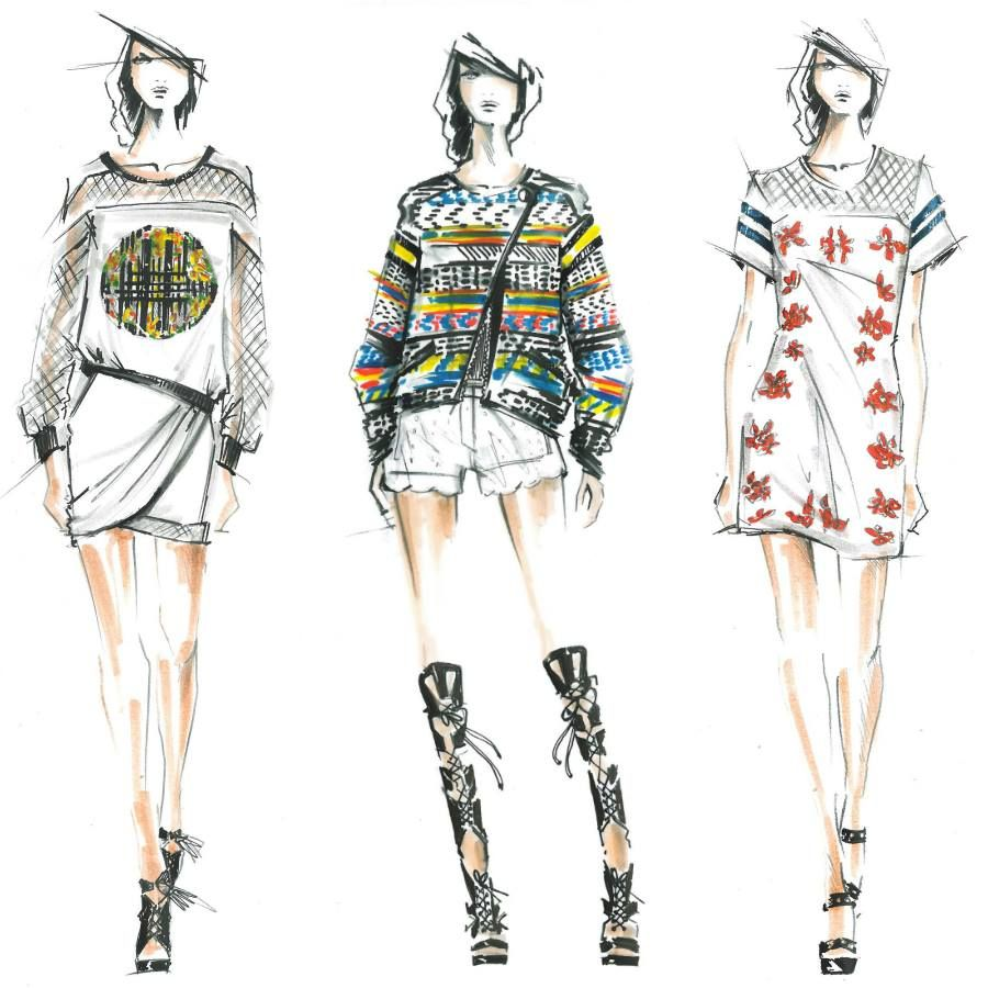 Designer Casual Wear | Illustration | Pinterest | Search Trends And Fashion Sketches