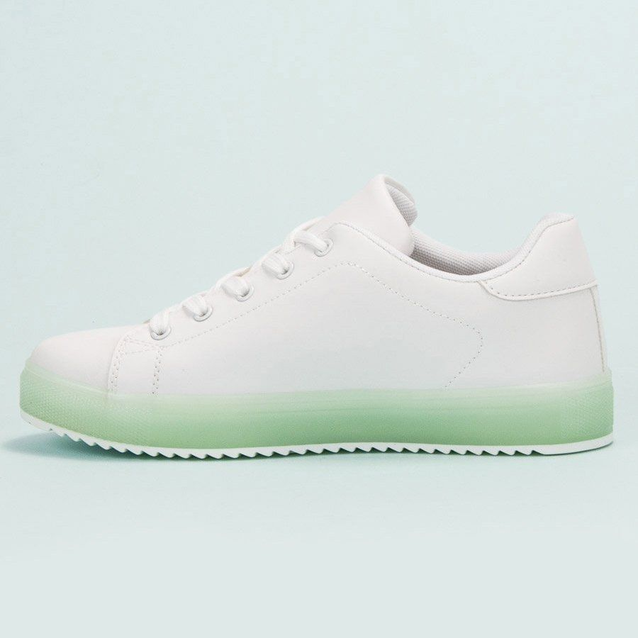 Sportowe Damskie Shelovet Shelovet Biale Wygodne Buty Sportowe Sneakers Nike Nike Cortez Sneaker Shoes