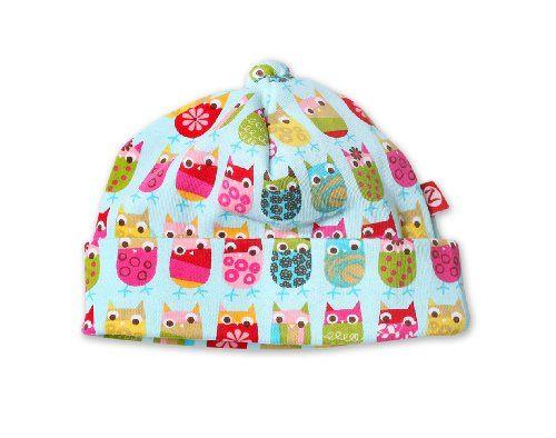 Zutano Owls Print Cap Aqua Newborn Zutano Http Www Amazon Com Dp B002ol2btq Ref Cm Sw R Pi Dp Edm8sb023wh Unique Baby Clothes Newborn Hat Baby Girl Clothes