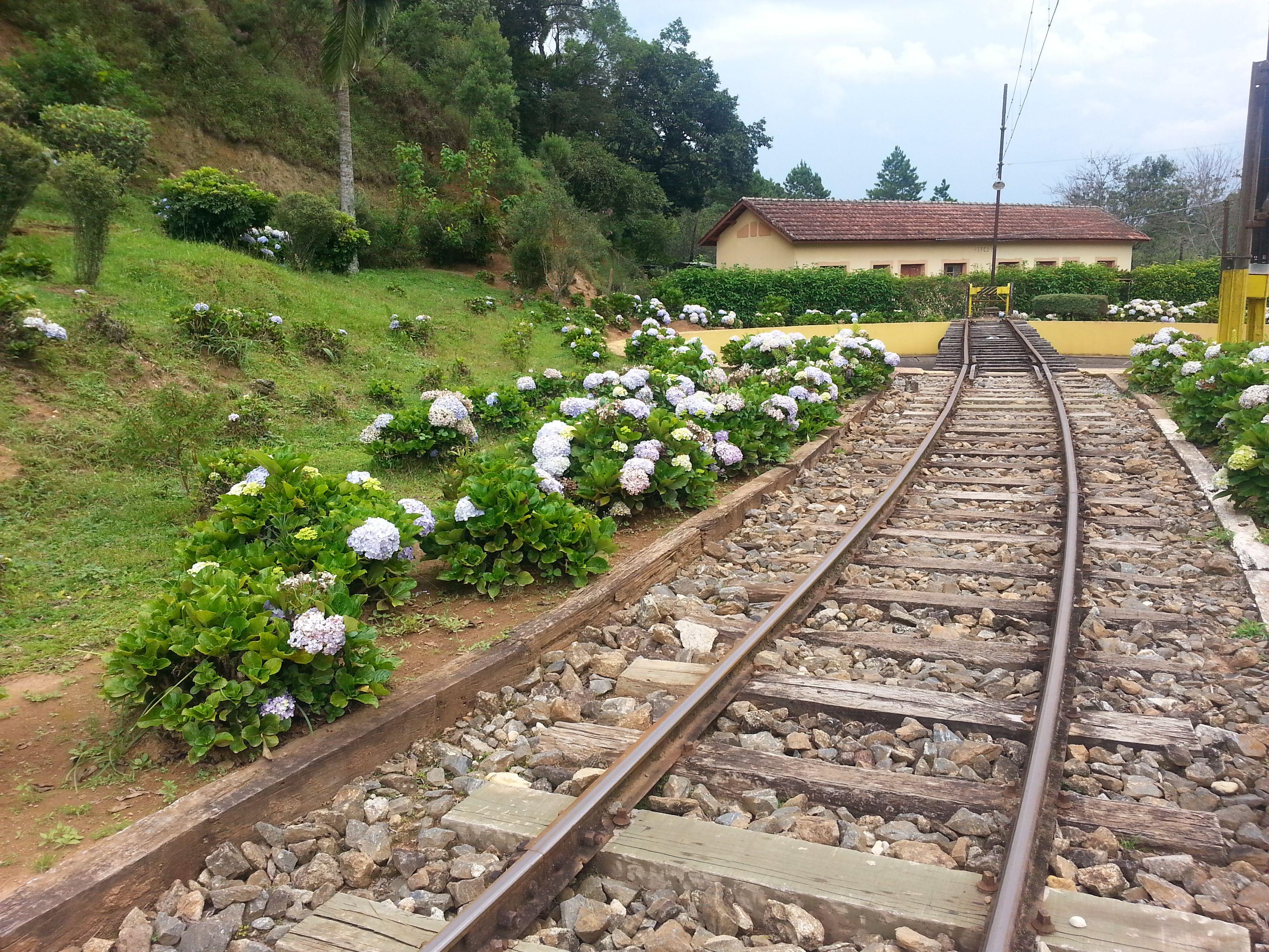 Estação Eugênio Lefévrè - Santo Antonio do Pinhal