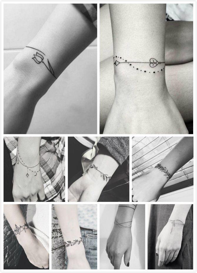 80915bbf8e0a2 9 Bracelet tattoos | Tattoo Designs | Tattoo bracelet, Wrist tattoos ...