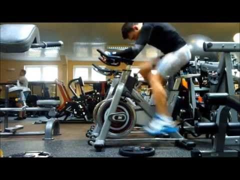 ▶ Tabata indoor cycling trening - YouTube