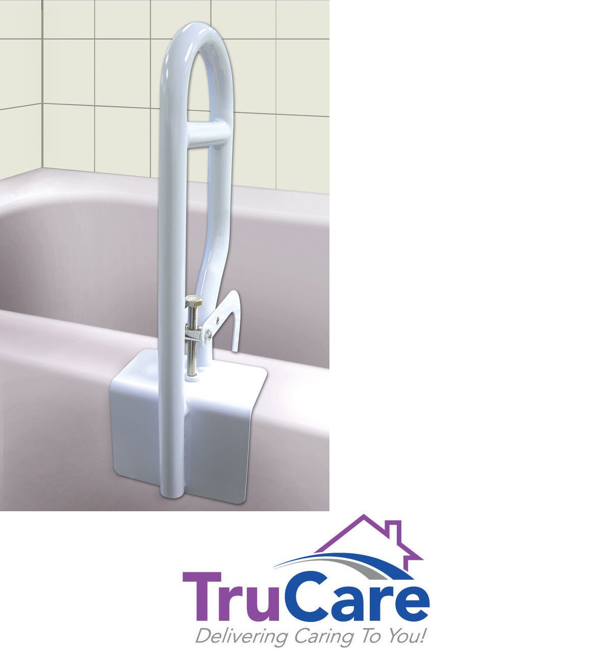 Bathtub Safety Rail Bathroom Safety Grab Bar Tub Support With ...
