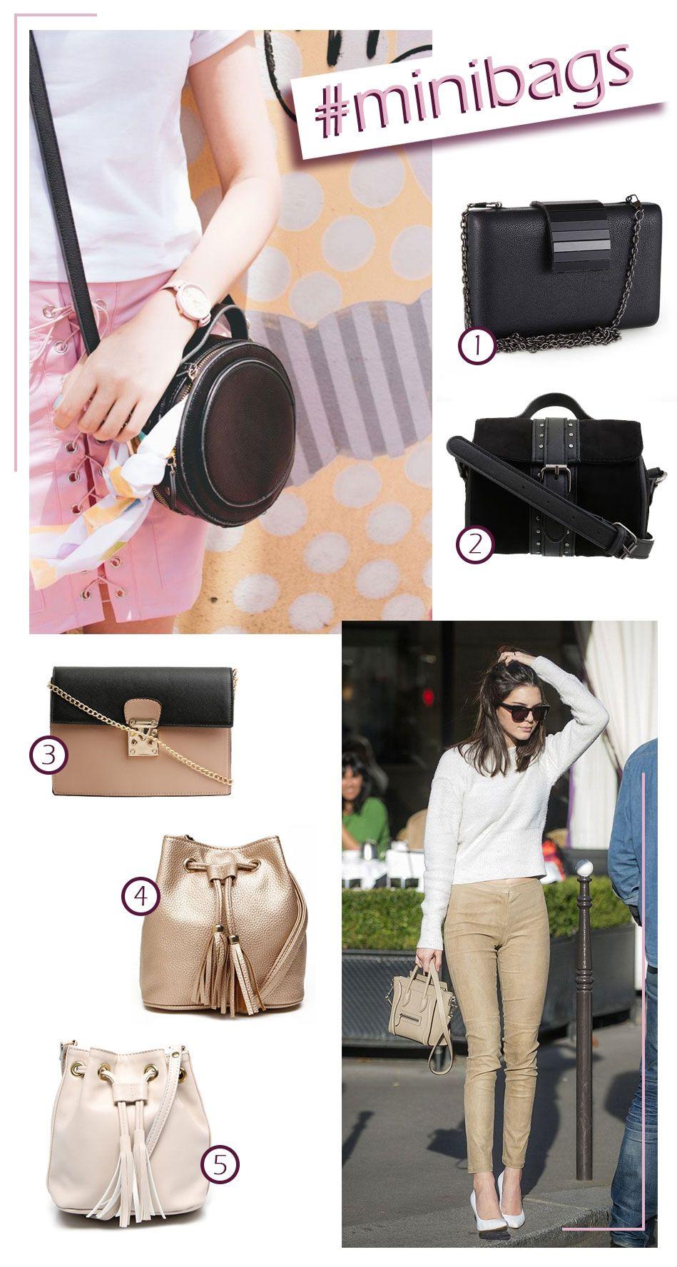 Onde Comprar Mini Bags por Preço Baixo #minibags #fashion #look #bag #moda #bags #bolsas #blog