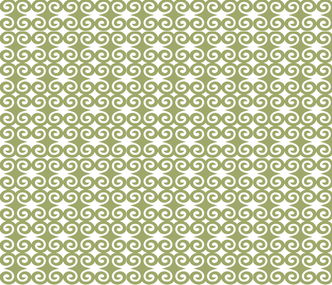 Olive Swirl from the Humility Collection fabric by gaiagroove on Spoonflower - custom fabric. http://www.spoonflower.com/fabric/867523