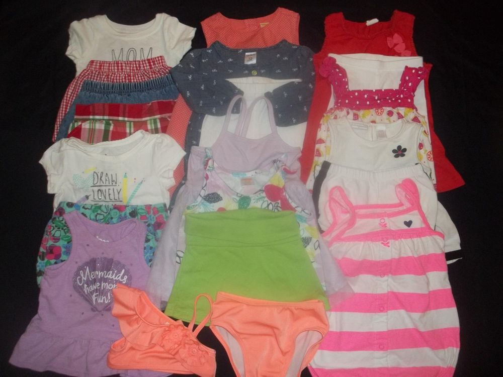 d6898d327 SALE! Baby Girls 12M Spring Summer Sets Clothes Outfit Lot 12 18 ...
