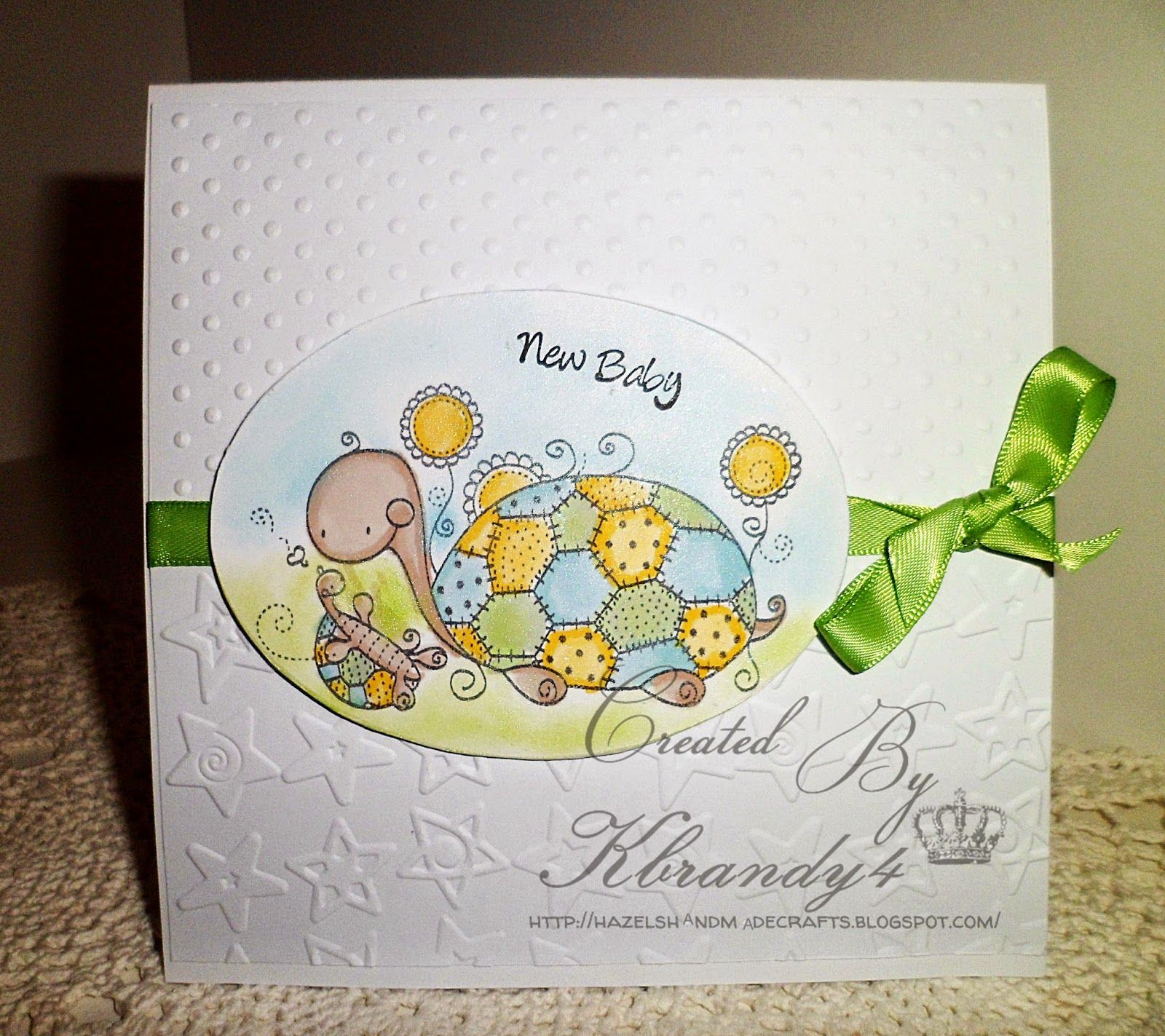Hazels handmade crafts first card of 2015 new baby cards hazels handmade crafts first card of 2015 new baby kristyandbryce Image collections