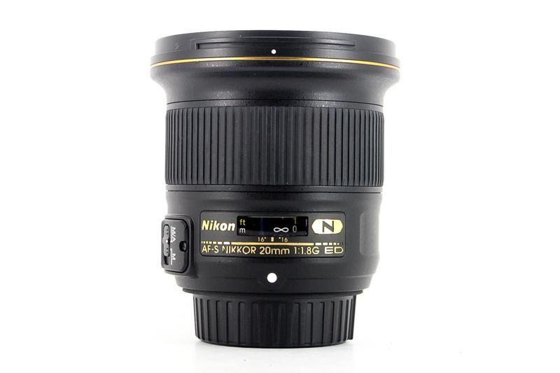 Used Nikon 20mm F 1 8g Af S Nikkor Ed In 2021 Nikon Wide Angle Lens Lens