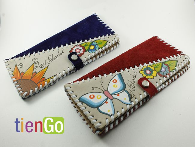 b26ec9a91 Billeteras de cuero para mujer   Made in El Salvador / Hecho a mano ...