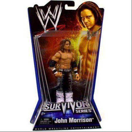 WWE Wrestling Pay Per View Series 1 Survivor Series John Morrison Action Figure, Multicolor